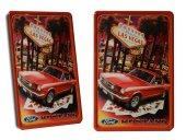 Ford Mustang Retro Metal Dekoratif Büyük Boy Tabela