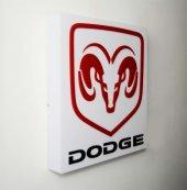 Dodge Işıklı Duvar Panosu