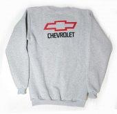 Chevrolet Logolu Gri Xl Sweatshirt