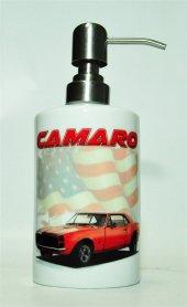 1968 Chevrolet Camaro Baskılı Banyo Seti