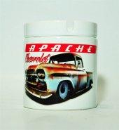 1958 Chevrolet Apache Baskılı Kül Tablası