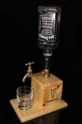 Pontiac Logolu Vintage Viski Dispenser