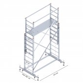 2x2.5 Metre İskele Merdiven