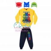 Pijamaskeliler Erkek Çocuk Eşofman Takımı Maske Hediyeli