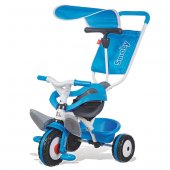 Yabidur Smoby Baby Balade Mavi Üç Tekerlekli Bisiklet