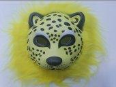 Yabidur Peluş Tiger Maskesi Hayvan Maskeleri Karışık 12 Adet
