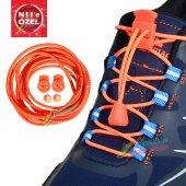 Akıllı Kilitli Elastik Ayakkabı Bağcık 100 Cm Videolu Süper Ürün