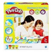 Play Doh Rakamları Ve Sayıları Öğreniyorum Oyun Seti