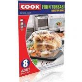 Cook Fırın Torbası 25 Cm X 38 Cm (8 Adet)