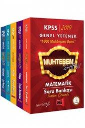 Yargı Yayınları 2019 Kpss Muhteşem Show Gy Gk Tamamı Çözümlü Soru Bankası Seti