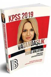 Benim Hocam Yayınları 2019 Kpss Vatandaşlık Konu Anlatımı