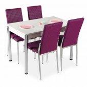 Masa Sandalye Takımı Mutfak Masa 4 Sandalye + Masa