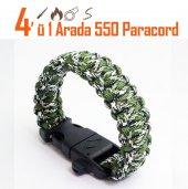 Snaken Camo 41 Paracord Bileklik Survival Paracord Bileklik Ç
