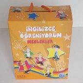 Ingilizce Öğreniyorum Eğitici Oyun Meslekler Puzzle