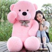 Dev Peluş Ayı 120cm Pembe Renk Pelüş Ayıcık Özel Fiyat 2019