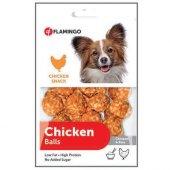 Flamingo Tavuk Ve Pirinçli Top Köpek Ödülü 75 Gr