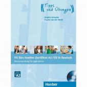 Fit Fürs Goethe Zertifikat A2 Fit İn Deutsch Lehrbuch Mit Audio Cd Hueber