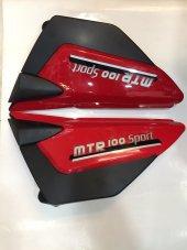 Motoran Mtr 100 Kanuni Breton S 100 Uyum Yan Kapak Takımı Kırmız