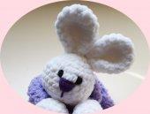 Damla Oyuncak Uyku Arkadaşım Tavşan,amigurumi,örgü Oyuncak