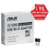 Asus Usb Ac53 Nano Ac1200 Kablosuz Usb Adaptör