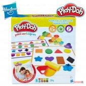 Play Doh Hasbro Şekilver Renkleri Ve Şekilleri...