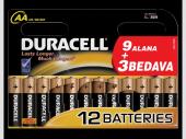 Duracell Alkalinli Pil Lr06 Mn1500 Kalem Pil Aa (1...