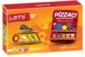 Lets Oyun Hamuru Pizza Kalıp Şekil Seti 10 Parça L8460 Oyuncakl
