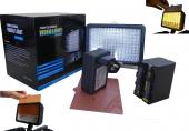 Panasonic Mdh3 İçin 160 Led Kamera Işığı, 160 Led ...