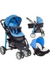 Beneto Bt 525 Sport Line Travel Sistem Bebek Arabası Mavi *yeni Model*