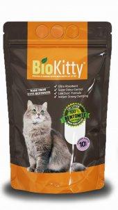 Biokitty Bentonit Kalın Taneli Kedi Kumu Lavanta Kokulu 10 Litre