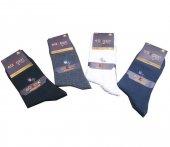 Erkek Likralı Pamuk Soket Çorap 12li Paket