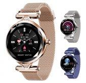 Olix H1 Smart Watch Bayan Akıllı Saat Nabız Ölçer ...
