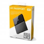 Wd My Passport Black Harici Harddisk, 3 Tb, Siyah