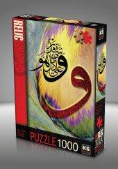 Ks Puzzle 1000 Parça Vav Allahın Adı İle 11365