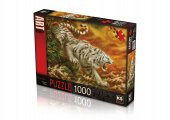 Ks Puzzle 1000 Parça White Tiger 20506