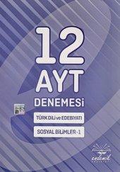 Ayt Türk Dili Ve Edebiyatı Sosyal Bilimler 1 12 Denemesi Endemik Yayınları