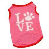 Kedi Ve Köpek İçin Love Elbise,kıyafet, Xs S M L Beden