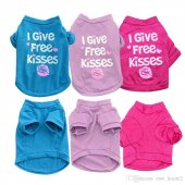 Renk Seçenekli,kedi Ve Köpek İçin I Give Free Kisses Elbise