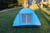 6 Kişilik Kaliteli Kamp Çadırı 220x250x150 Cm Çantalı Sineklik ,