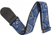 Planetwaves 50g03 Blue Bandana Textile Collection