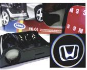 Honda Kapı Altı Logo Pilli Tak Çalıştır Sag Sol 2 Adet