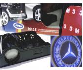Mercede Benz Kapı Altı Logo Pilli Tak Çalıştır Sag Sol 2 Adet