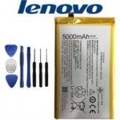 Lenovo Vibe P1 5000 Mah Batarya Pil Bl 244 + Tamir Montaj Seti