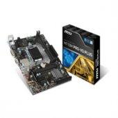 Msı Intel H110m Pro Vd Plus H110 Ddr4 2133 Vga Glan 1151p 7 Usb 3