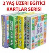 Dıytoy 4 Set 1 Arada Eğitici Zeka Kartları Hayvanlar Meyve Ve Sebzeler Sözcükler Sayı Renk Şekiller