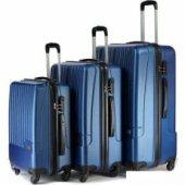 Wexta Wx 230 3lü Set Valiz Mavi
