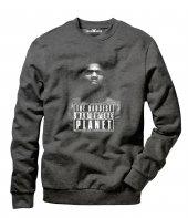 Tshirthane Mike Tyson The Baddest Erkek Uzun Kollu Sweatshirt