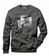 Tshirthane Mike Tyson Erkek Uzun Kollu Sweatshirt