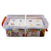 Mozaik Puzzle Orta 200pcs Eğitici Lego Oyun Seti Kutulu