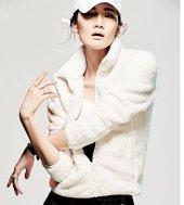 Kadın Hırka Sweatshirt, Bayan Peluşlu Polar Sweat...